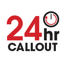 24hr Call out
